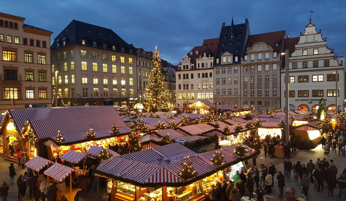 Leipziger Weihnachtsmarkt 2021 kommt - Stadt bereitet alles vor, um weihnachtliche Stimmung in die Innenstadt zu bringen