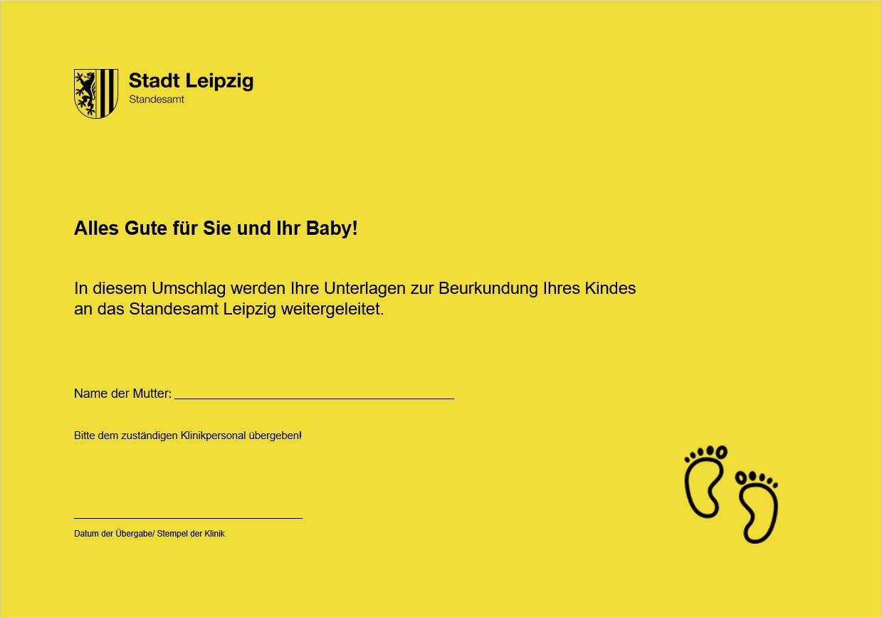 Geburt - Stadt Leipzig
