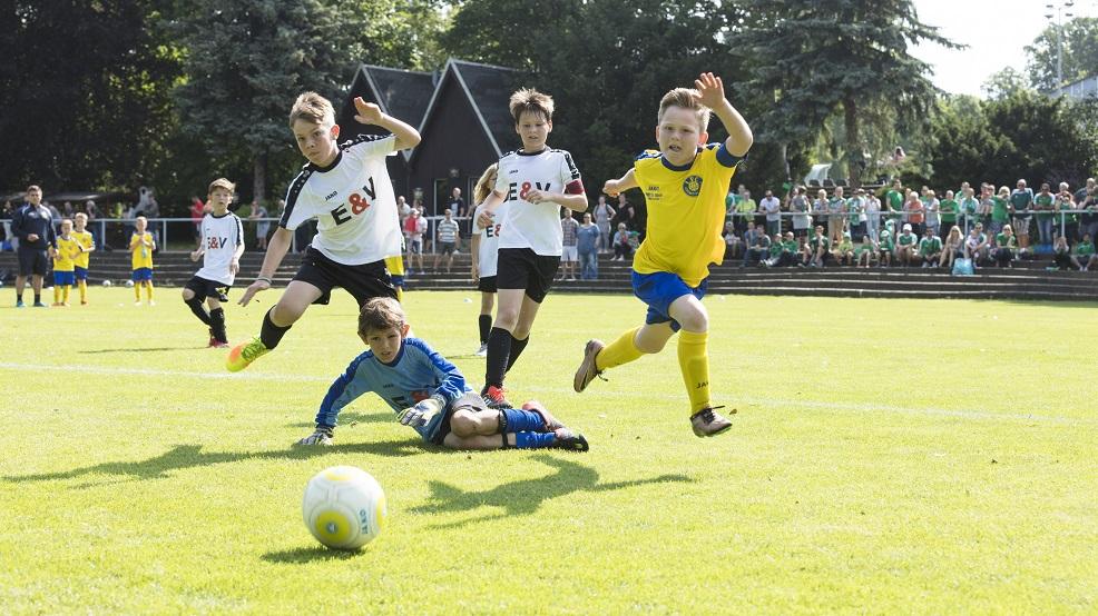 Fußballspiel Leipzig