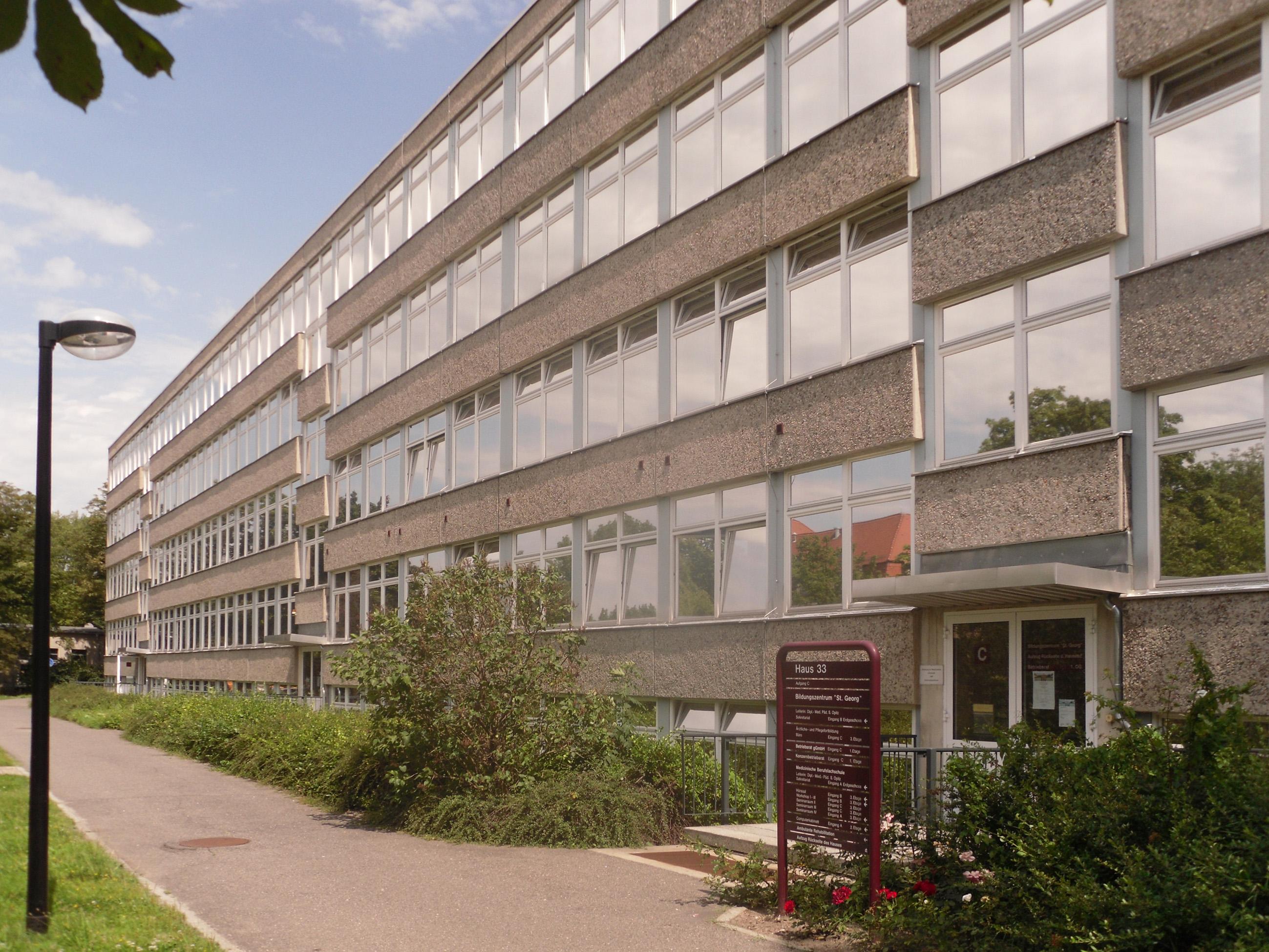 Medizinische Berufsfachschule Am Klinikum St Georg Ggmbh Der Stadt