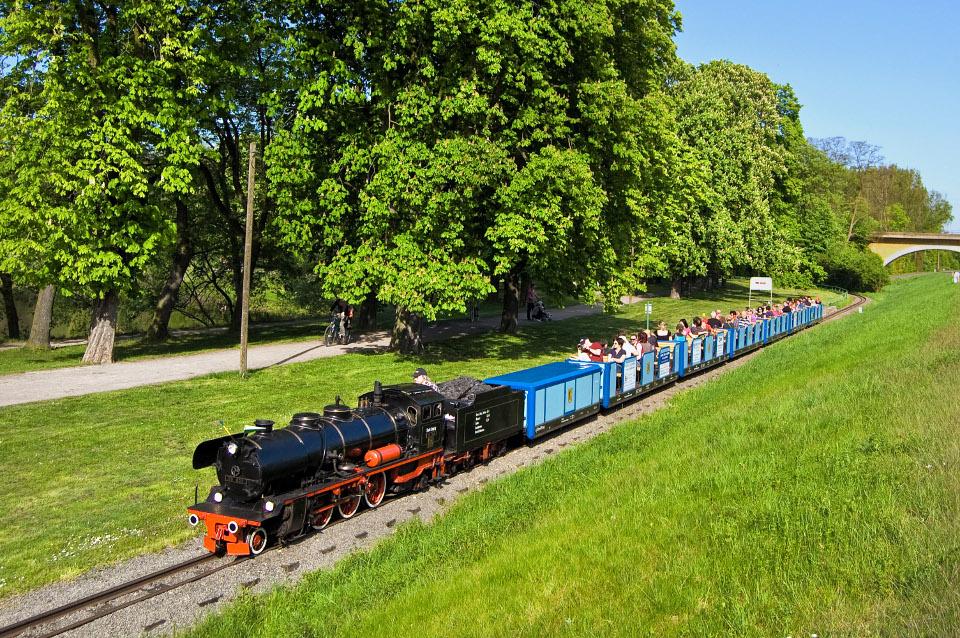 Parkeisenbahn am Auensee fährt ab morgen wieder