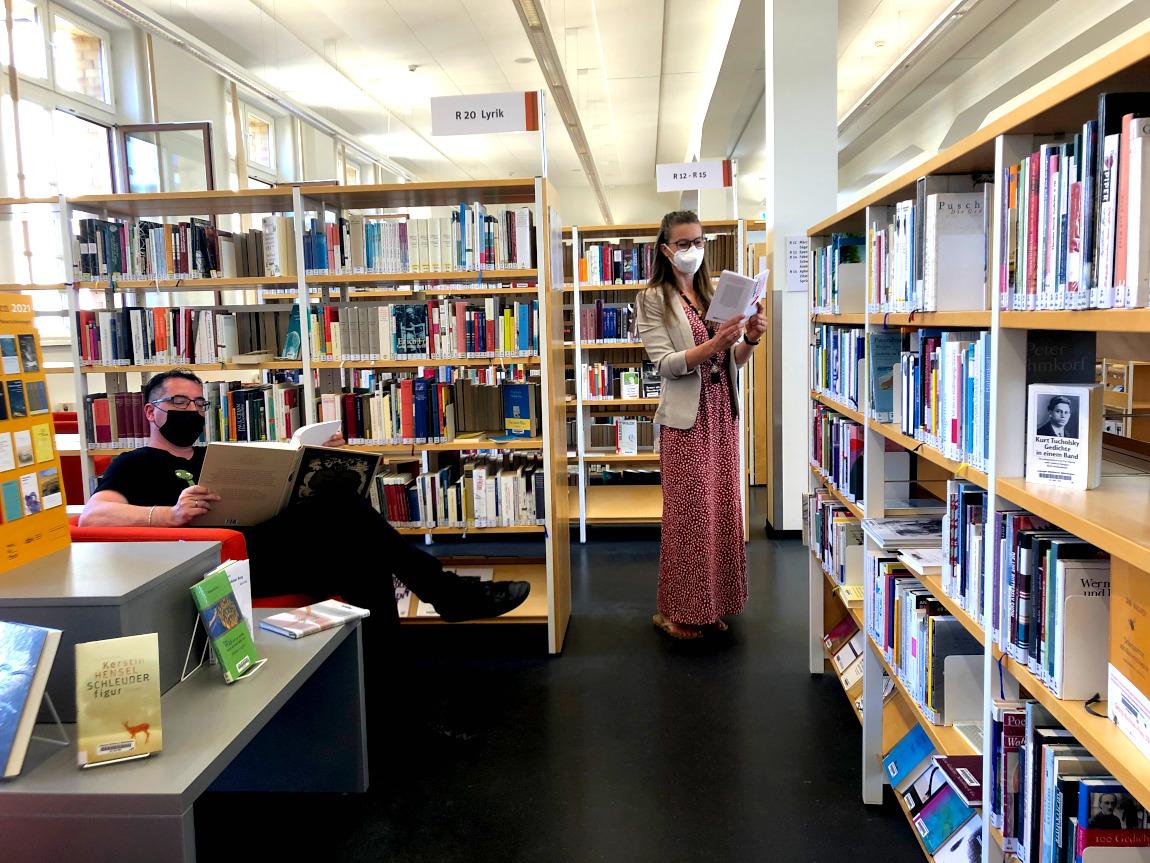 Die Leipziger Städtischen Bibliotheken sind wieder geöffnet